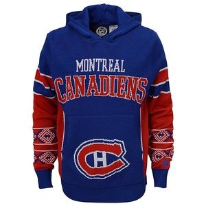 NHL Montreal Canadiens Boys Hooded Sweater
